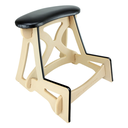 [940082] Cello Stand Stool - Natural Wooden, Standard 18""