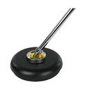 [520846] Cello & Double Bass Endpin Holder Stopper - Black with Brass Center