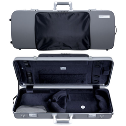 "[B2-PANT2202XLDG] Viola Case - Bam Panther Hightech Oblong with Pocket, Grey, 15""-16.5"""