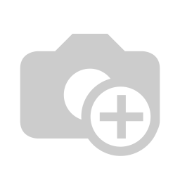 [70808255] A6 Zipper Stationery Set -White notebook with manuscript theme in clear pencil case with gold quavers.