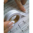 "[S-SEALB5TYPE] Music Stave Tape (15mm x 12 strips) ""Gorakusen"" Manuscript Correction Tape"