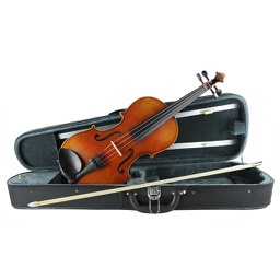 [102274-Outfit] Violin Outfit - Johann Stauffer #100S 1/8 with Arrow Case and Student Bow