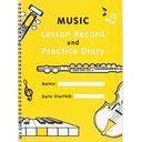 [S-LRPD] Music Lesson Record & Practice Diary TEXMUS401