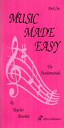 [S-HP001] Music Made Easy Book One - Heather Bowden - Hillvue Publications
