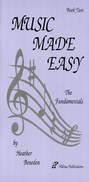 [S-HP002] Music Made Easy Book Two - Heather Bowden - Hillvue Publications