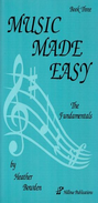 [S-HP003] Music Made Easy Book Three - Heather Bowden - Hillvue Publications