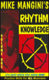 [S-MMB015MT] Mike Mangini's Rhythm Knowledge Vol. 1 - Practice Skills for ALL Musicians - All Instruments Mike Mangini Rhythm Knowledge