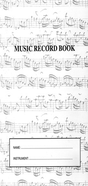 [S-MUSICADIDAX] Music Record Book - Musica Didax