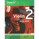 [S-TCL14641] Trinity Violin Exam Pieces Grade 2, 2016-2019 - Score and Part