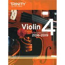 [S-TCL14665] Trinity Violin Exam Pieces Grade 4, 2016-2019 - Score and Part