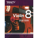 [S-TCL14702] Trinity Violin Exam Pieces Grade 8, 2016-2019 - Score and Part