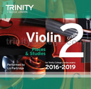 [S-TCL14900] Violin Exam Pieces Grade 2, 2016-2019 - CD ONLY - Various - Violin Trinity College London CD