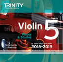 [S-TCL14931] Violin Exam Pieces Grade 5, 2016-2019 - CD - Various - Violin Trinity College London CD