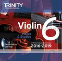 [S-TCL14948] Violin Exam Pieces Grade 6, 2016-2019 - CD - Various - Violin Trinity College London CD