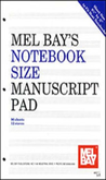 [S-94762] Notebook Size Manuscript Pad 12 Stave -
